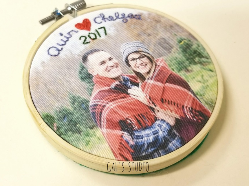 Galstudio couple ornament