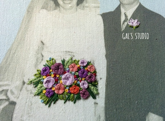 galstudio vintage wedding detail purple