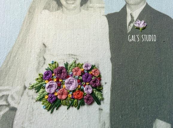 galstudio vintage wedding detail purple