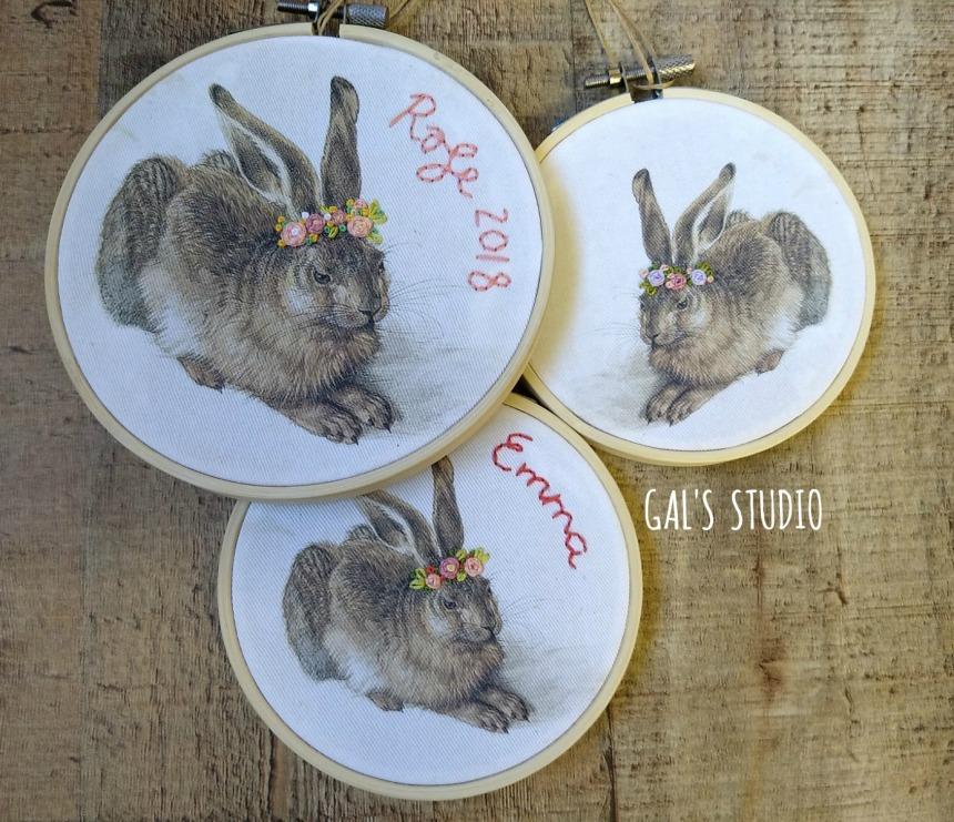 galstudio Easter bunnys