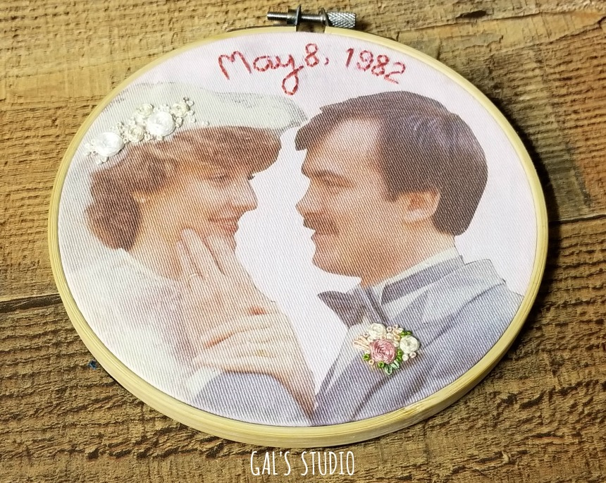 galstudio wedding hoop 1982